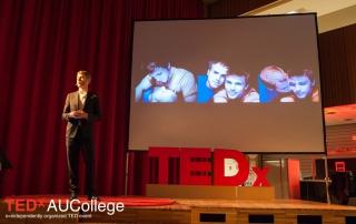 Photo TEDx Shane Bitney Crone