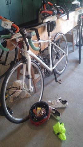 fiets startklaar